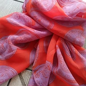 Just in! Timepiece Scarf - Sheer